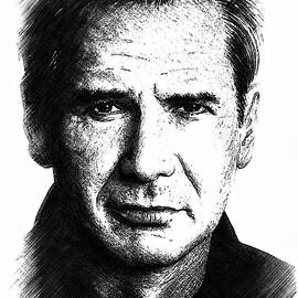 Andrew Read - Harrison Ford sketch edit