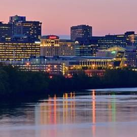 Hartford Panorama with Ambiance by Frozen in Time Fine Art Photography