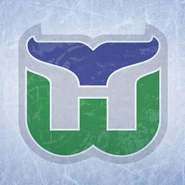 Hartford Whalers Vintage Hockey at Center Ice - Design Turnpike