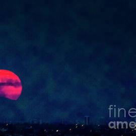 Amy Sorvillo - Harvest Moon over Phoenix