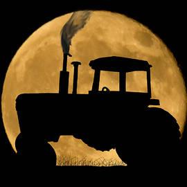 Harvest Moon by Shane Bechler