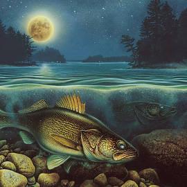 Harvest Moon Walleye IIi by Jon Q Wright