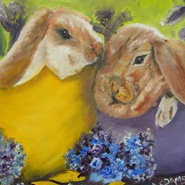 Hatched Bunnies by Cheryl Damschen
