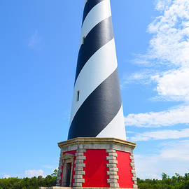 Jeff at JSJ Photography - Hatteras Lighthouse into the Clouds
