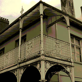 Phil Panton - Haunted balcony