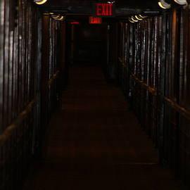 Haunting Hallway Queen Mary by Colleen Cornelius
