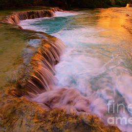 Havasu Creek Havasupai by Bob Christopher