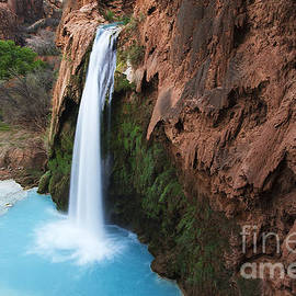 Havasu Falls Grand Canyon 1 by Bob Christopher