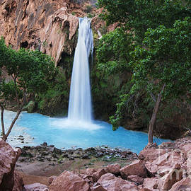 Havasu Falls Grand Canyon 2 by Bob Christopher