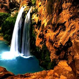 Dr Bob Johnston - Havasu Waterfall