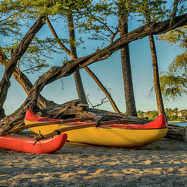 Hawaiian Outrigger Canoe Hawaii 7R2_DSC5196_01182018 by Greg Kluempers
