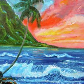Hawaiian Sunset  by Jenny Lee