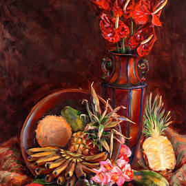 Karen Whitworth - Hawaiian Tropical Fruit Still Life