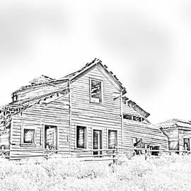 Bob Corson - Haynes House Sketch