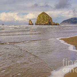 Marv Vandehey - Haystack Rock Beach Wave
