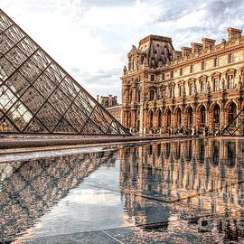 HD Filter The Louvre Paris  by Chuck Kuhn