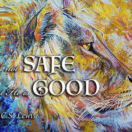 He Is Not Safe But He Is Good by Aaron Spong