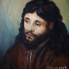 Amalia Suruceanu - Head of Christ after Rembrandt