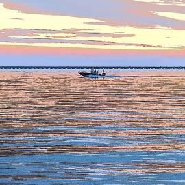 Heading Home - Lake Pontchartrain, Louisiana  by Kenneth Keller