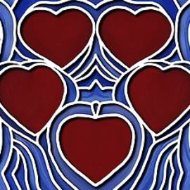 Hearts Of The Life Line by Barbara St Jean