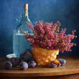 Heather and Plums by Nikolay Panov