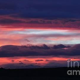 Angela Koehler - Heavenly Shaded Sunset