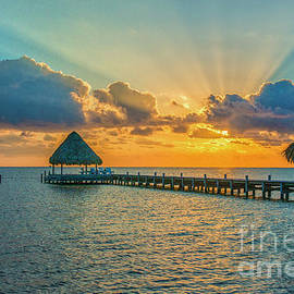 Heavenly Sunrise by David Zanzinger