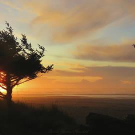 Heaven's Handiwork - Oregon Coast Sunset - Nature Photography by Brooks Garten Hauschild