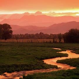 Johnny Adolphson - Heber Valley Golden Sunset