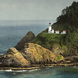 Heceta Head Lighthouse  by John Trax