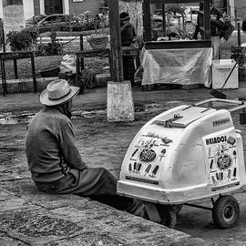 Heladero - Sorbetero- Ice Cream Man - Antigua Guatemala by Totto Ponce