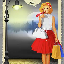 Monika Juengling - Hello from the 50s Shopping Girl