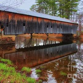 Elizabeth Dow - Hemlock Covered Bridge Fryeburg Maine
