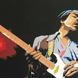 Hendrix 4 by Ken Jolly