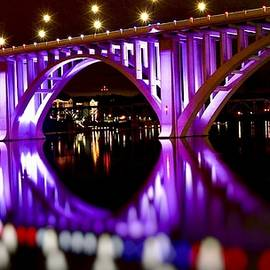 Henley Street Bridge, Knoxville TN by Jerome Griffin