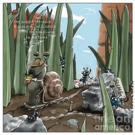 Hercule Escargot Investigates by Kris Burton-Shea