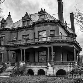 Kirt Tisdale - Heritage Hill Mansion In Black And White