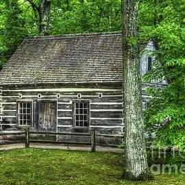Hessler Log Cabin by Randy Pollard