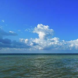 Higgs Beach Key West Panorama by Bob Slitzan