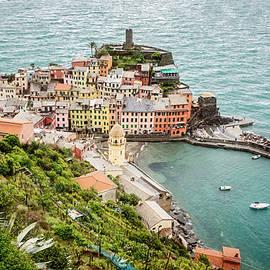 Joan Carroll - High Above Vernazza Cinque Terre Italy