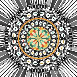 Gaspar Avila - High contrast mandala