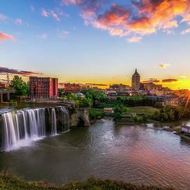 High Falls Rochester NY by Mark Papke