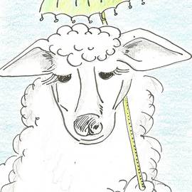 High society sheep by Gabriel Coelho