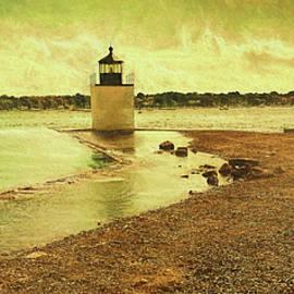 Jeff Folger - High Tide at Derby Lighthouse
