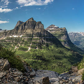 Highline Trail Glacier National Park  by John McGraw