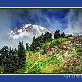 Hiking Rainier by Deborah Klubertanz