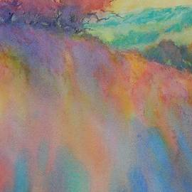 Hill Country Abstract No 10 - Virgil Carter