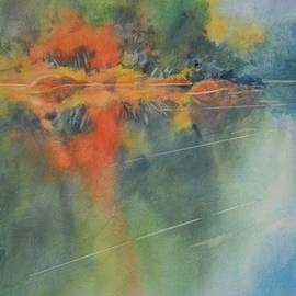 Hill Country Abstract No 3 by Virgil Carter