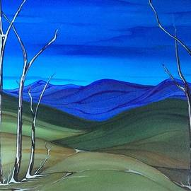 Pat Purdy - Hill view