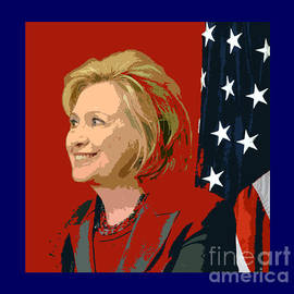 Hillary Clinton By Christopher Shellhammer by Christopher Shellhammer